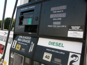 Picture of Gas Pumps at Newburgh Yacht Club