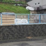 Railings Installed On New Swimming Pool