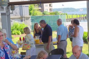 Chilled Juice Bar at Newburgh Yacht Club Blessing of the Fleet