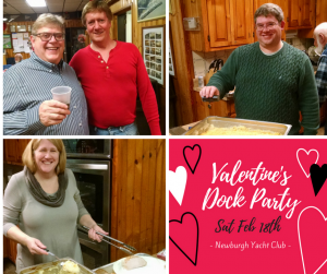 February Dock Party with Valentines Theme