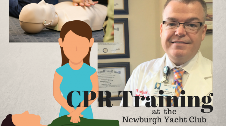 It's CPR Training Time at the Newburgh Yacht Club