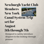 NY Canal Trip Planned for Newburgh Yacht Club Members — August 5th to 7th