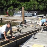 """Finishing Touches to """"D"""" Dock"""