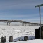 An Icy Newburgh Bay