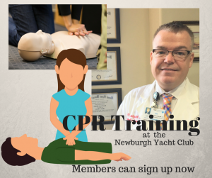 CPR Training at the Newburgh Yacht Club