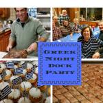 Greek Night–Wonderful Dock Party–at Newburgh Yacht Club